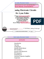 Basic Analog Circuits