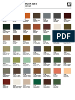 Panzer Aces Color Chart