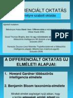 (12)A DIFFERENCIÁLT OKTATÁS
