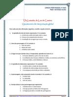 Os Lusíadas - quest. interp. global esc.mult.22questões (blog9 10-11)