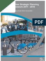 DublinBikes Strategic Planning Framework 2011 - 2016