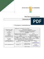 Plan Docente Estructura de Computadores 06-07