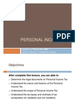 Personal Income Tax 2 slides