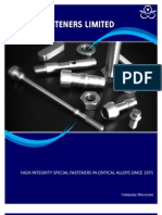 Hague Fasteners - Special Fasteners & Non Standard Bolts and Nuts