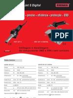 LEISTER - Soldagem de Componentes Eletrônicos (511KB) - Soldagem e desoldagem de componentes SMD e PIN'S sem contacto-