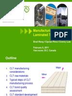 CLT Manufacturing
