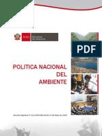 Politica Nacional Del Ambiente1