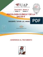 Adherencia Al Tratamiento.ppt SEMANA 4