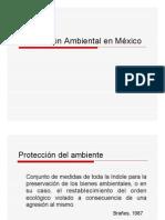 Legislacion Ambiental en Mexico
