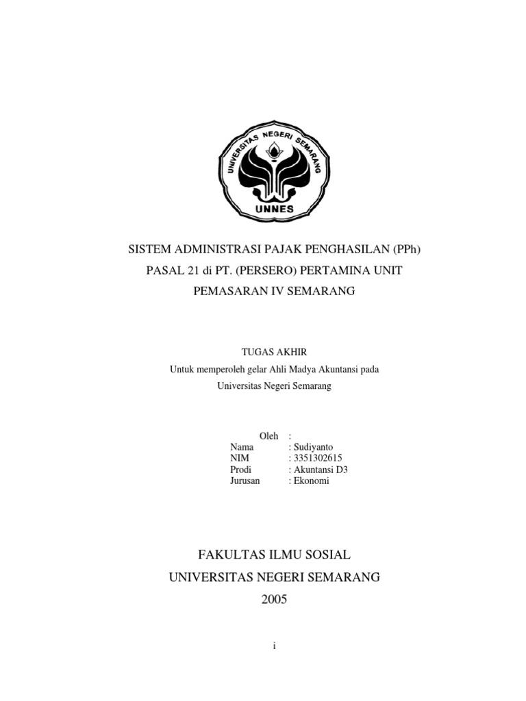 jurnal skripsi akuntansi perpajakan pdf