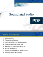Chapter 07 - Sound and Audio Lecturer