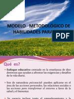 MODELO   METODOLÓGICO DE  HABILIDADES PARA LA VIDA