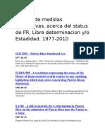 Puerto Ricos Status Bills
