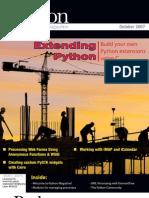 Python Magazine  | Volume 1 - Issue 10