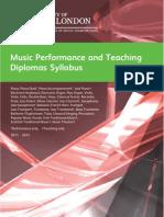 Music Diplomas 2011