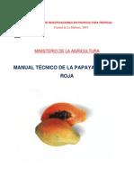 Manual Tecnico de La Papaya Maradol