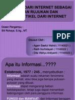 Internet Sebagai Bahan Rujukan Dan Sitasi