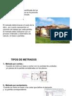 2° CLASE DE METRADOS