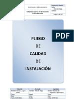 2011 - Pliego Calidad Instalacion Claro v08.31