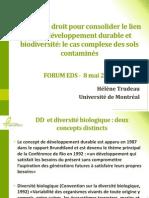 Forum EDS 2013 - Hélène Trudeau
