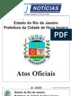 diario oficial de nova iguaçu - 14 de maio de 2013