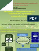 Forum EDS 2013- Jean-Pierre Reveret Et Al