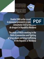 Studiul ONG-urilor ce activează în domeniul prevenirii şi combaterii consumului ilicit şi traficului de droguri în RM