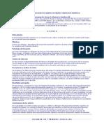 Preacondicionamiento isquémico para el trasplante hepático