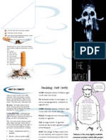 Documentos Similares A 599 Ingredients Added To Cigarettes