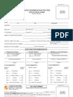 UPCFA Application Form