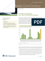 Weekly Market Commentary 5/13/2013