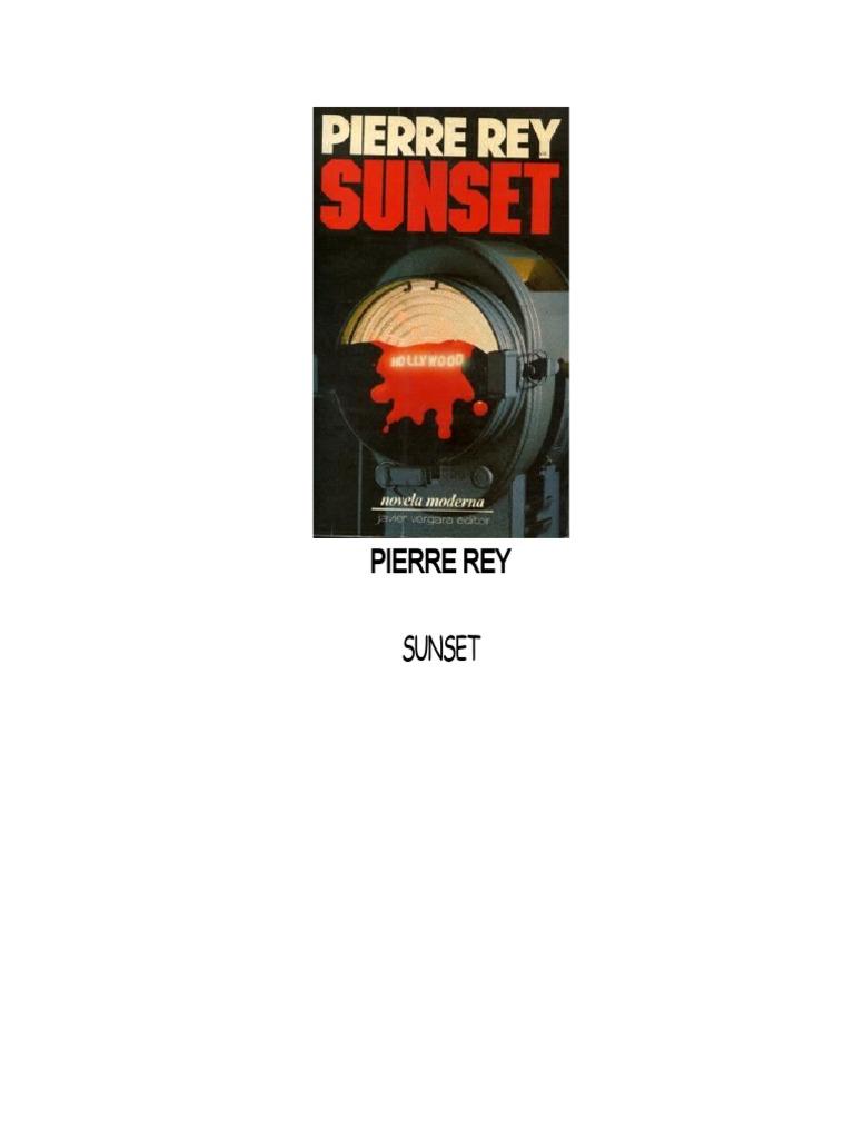 Rey, Pierre - Sunset