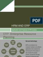 HR in ERP.
