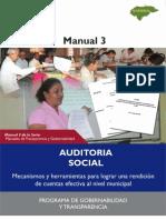 Manual de Auditoria Social