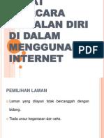 Empat Tatacara Kawalan Diri Di Dalam Menggunakan Internet Final