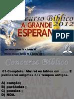 Concurso Bíblico 2012 - 30