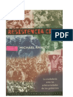 Michael Randle - Resistencia Civil