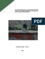 Propuesta Tecnica de Huarocondo - Modelo 2013