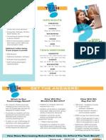 QRSD Tech Bond brochure