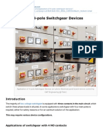 Application of 4 Pole Switchgear Devices