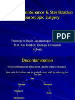 05- Cleaning, Maintenance & Steralization in Laparoscopic Surger
