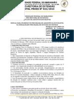 Edital Nº 0222013 CEI
