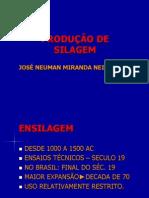 PRODUÇÃO DE SILAGEM