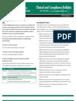 Rehab Compliance Bulletin 2013 Q2