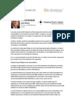 Anticiparse, Luis Huete. 2012-06