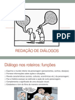 Redação de diálogos