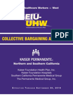 UHW Kaiser Local Agreement 2012-2016