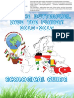 Ecological Guide - Save the butterflies, save the planet!