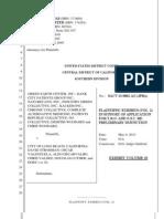 Evidence - Volume 2 - Green Earth Center v. City of Long Beach - Long Beach Medical Marijuana Raids (SACV 13-0002)