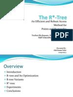 The R* Tree
